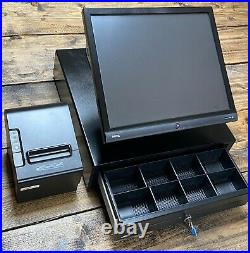 Complete 17 Touch Screen POS ePOS till system with software NO MONTHLY FEES
