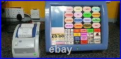 EPOS System Posligne Aures Odysse TouchScreen Till Scanning Retail Cash Register