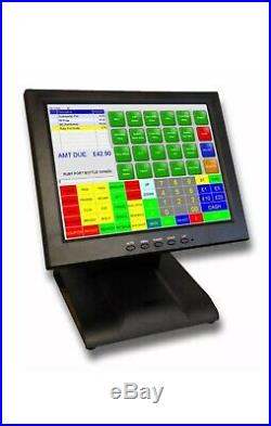 EPOS Touchscreen Till System Can DELIVER Retail or Restaurant NO CONTRACT