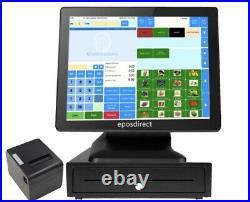 EPOS Touchscreen Till System Cash Register for Retail or Restaurant