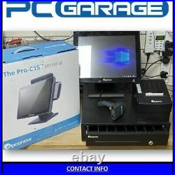 EPOSNOW PRO-C15 Shop Till with Cash Drawer and Receipt printer