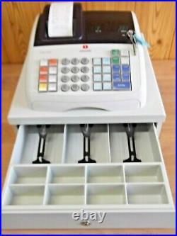 Easy 2 Use Olivetti Ecr7700 Cash Register Shop Till Good Condition + Till Rolls