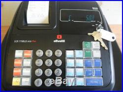 Easy To Use Olivetti Cash Register Shop Till Fully Guaranteed & Free Till Rolls