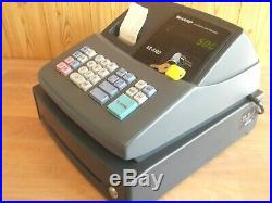 Easy To Use, Sharp Cash Register Shop Till Fantastic Condition 1 Year Guarantee