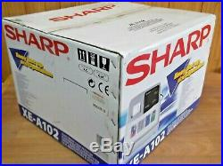 Easy To Use Sharp Xe-a102 Cash Register Shop Till Brand New & Boxed