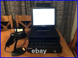 Epos Now PRO A-15 touchscreen Till, Cash register Set, Printer, Scanner, drawer