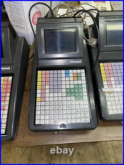 FOUR Uniwell SX-700 Point Of Sale Terminal Till Cash Register Pub Club Shop Cash