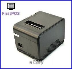 FirstPOS 12in Touch Screen EPOS POS Cash Register Till System Laundrette Laundry