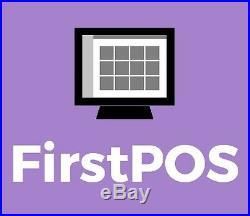 FirstPOS 17in Touch Screen EPOS POS Cash Register Till System Florist