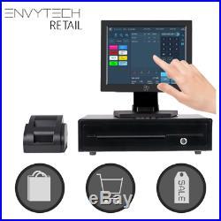Full Touchscreen EPOS System for Corner Store POS Cash Register Till Shop Retail
