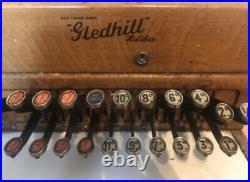 Gledhill Retro Vintage Cash Register till