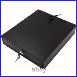 Heavy Duty POS Cash Drawer Register 4 Bills 5 Coins Removable Cash Tray Till Box