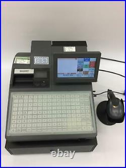 Job lot 6 X Sharp UP-820F EPoS Till Units with Scanners Shop Cash Register