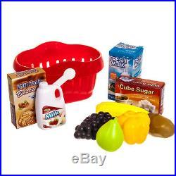 Kids Cash Register Toy Gift Set Supermarket Till Child Girl Shop Role Play New
