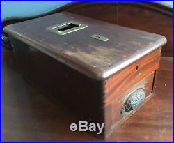 Large Antique Original Wooden Shop Till Cash Register Drawer