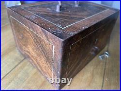 Large Vintage Antique Safe Cash Till Register Strongbox Industrial