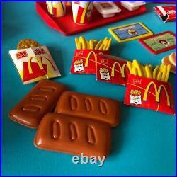 McDonalds Restaurant Talking Till Cash Register Play Food Toy Bundle Set Job Lot
