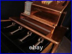 NCR Model 21 Copper Electric & Manual Crank Handle National Cash Register / Till