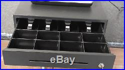 NEW CASIO SE-S400 CASH REGISTER Till & HANDSFREE Barcode Scanner Shop Epos