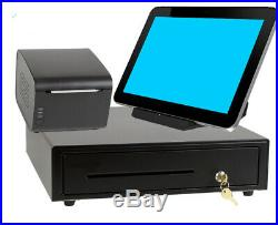 NEW Touch screen ePOS system / cash till register NO MONTHLY FEES/SELF SETUP