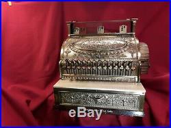 National Cash Register/Brass antique shop till /vintage national cash register