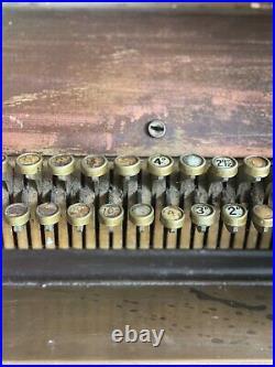 National Cash Register /vintage National cash register/Antique Brass Till