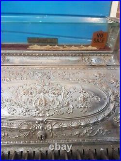 National Cash Register /vintage national cash register / Antique brass till