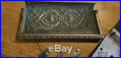 National cash Register Dust Covers And Solid Coin Shelf/till lid crutch key lock