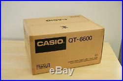 New Casio QT 6600 Epos Cash Register 15 TouchScreen Till Food Pub Club