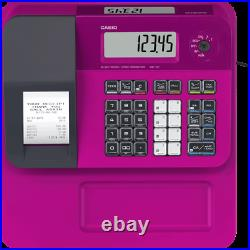 New Casio SEG1 SE-G1 Cash Register Pink With 10x Till Rolls