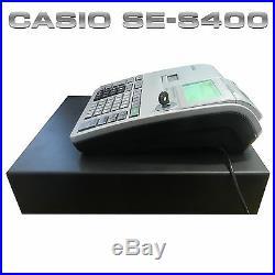 New Casio Se-s400 Ses400 Se S400 Cash Register Till + Barcode Scanner (z4)