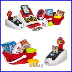 New Supermarket Till Kids Cash Register Toy Gift Set Child Girl Shop Role Play