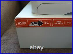 Olivetti 7100 Electronic Cash Register Till Complete With Spool Retail Shop