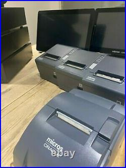 Oracle Micros Workstation x3 with 4 printers & 3 cash drawers till system bundle