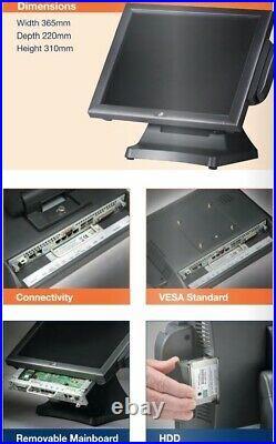 Point of system display J2 630 V4 opos 25 and cash register. (Till A4)