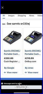 Portable cash register / Till