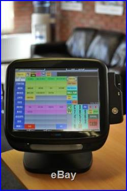 PosBank Epos 15' Touchscreen Till 4 Restaurant Cafe Pub Cash Register +ICR Touch