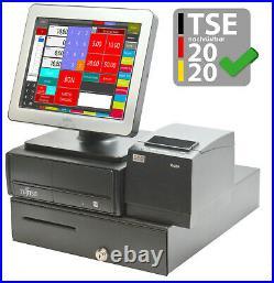Pro Tse Till Touchscreen Cash Register System Pos Retail Gastronomy Black KA16