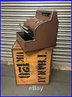 Rare Antique ANKER Original Shop Till Cash Register German Great Condition