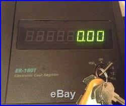 SAM4S ER-180TB Electronic Cash Register With Till Rolls And Free P&P