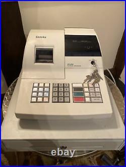 SAM4S ER-290 Electronic Cash Register Till White With Key