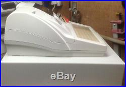SAM4S ER-390M Electronic Cash Register With A Box Of Till Rolls And Free P&P