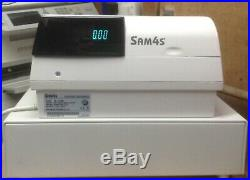 SAM4S ER-390M Electronic Cash Register With Box Of Till Rolls And Free P&P
