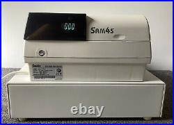SAM4S ER-420M Electronic Cash Register Complete With Till Rolls And Free P&P