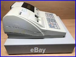 SAM4S ER-420M Electronic Cash Register Till White With Key & Free P&P