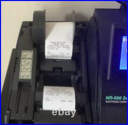 SAM4S NR-520RB Electronic Cash Register Complete With Till Rolls