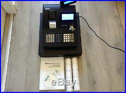 SAM4S NR-520RB Electronic Cash register with A Box Of Till Rolls And Free P&P
