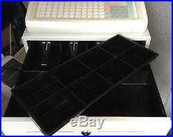 SAM4S SER-7000 Electronic Cash Register With Thermal Till Rolls And Free P&P