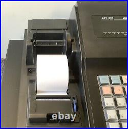 SAM4s ER-260B Electronic Cash Register Complete With Till Rolls And Free P&P