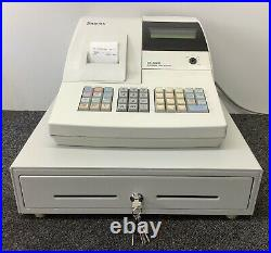 SAM4s ER-380M Electronic Cash Register Complete With Till Rolls And Free P&P